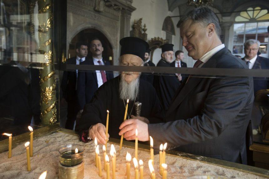 Президент і Церкви попросили Патріарха Варфоломія надати Томос про автокефалію