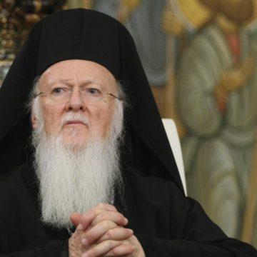 Вселенський Патріарх привітав митрополита Епіфанія з обранням і благословив