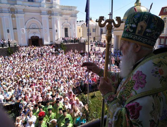 """""""Прощати можна тих, хто кається"""", – Патріарх Філарет про росіян на Донбасі"""