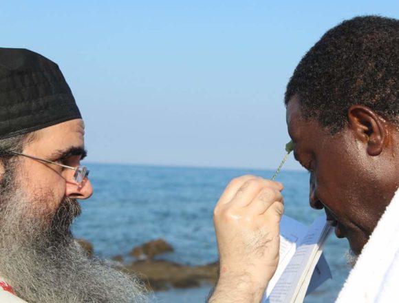 Африканський король прийняв православ'я на Афоні: з'явилися подробиці хрещення