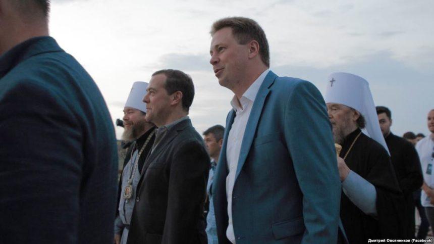 Єпархія УПЦ МП відзначила 1030-річчя Хрещення Русі разом з прем'єр-міністром Росії