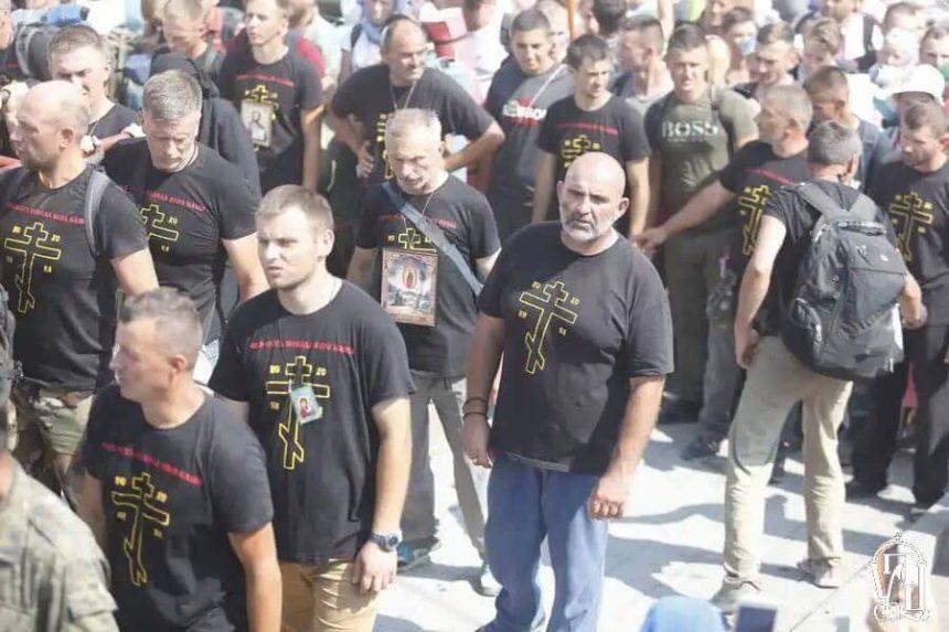 Футболки з написом «Приготуйтесь до війни» роздала єпархія УПЦ МП – джерело