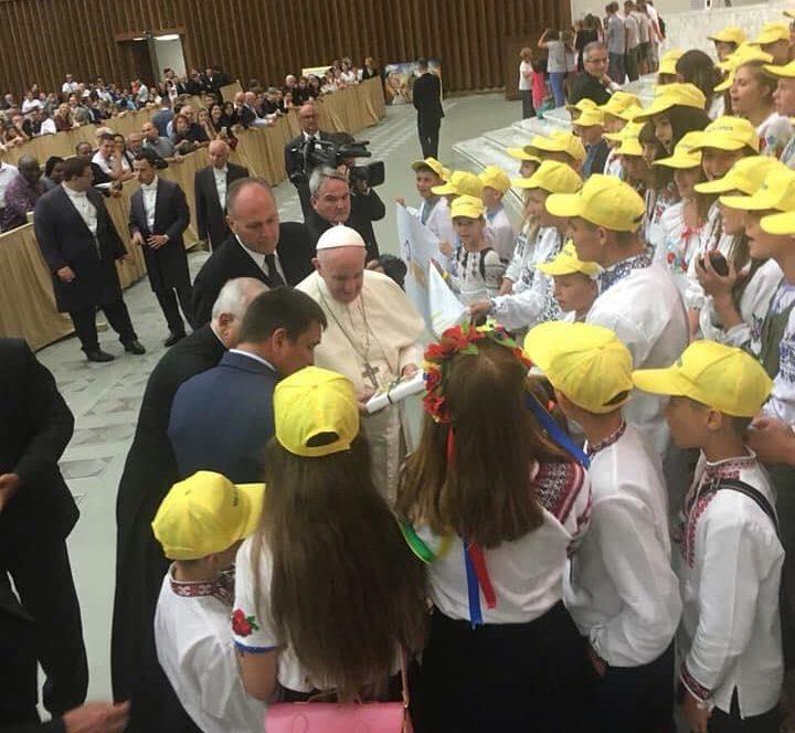 Папа Франциск зустрівся з українською делегацією