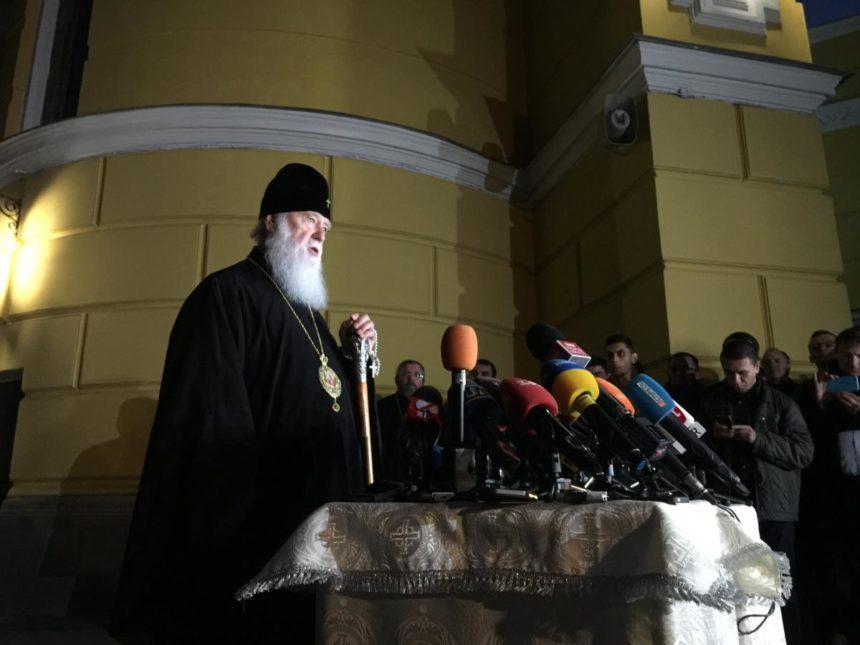 Патріарх Філарет: Російська церква може лишатися в Україні, але з умовою