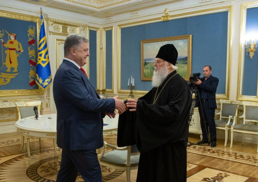 Патріарх Філарет зустрівся з Президентом України