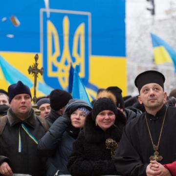 На Софійській площі 10 тисяч людей чекають на оголошення імені Предстоятеля помісної Церкви
